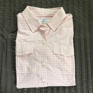 Vineyard Vines Relaxed Fit Performance Shirt XS